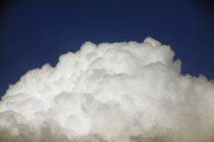 photo of a cloud
