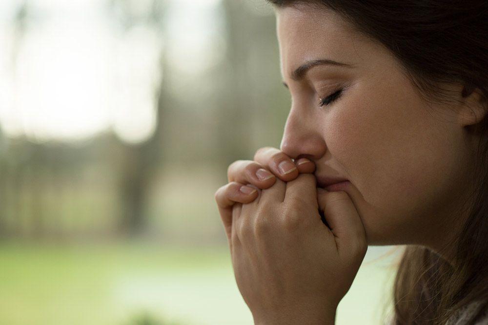 crying woman