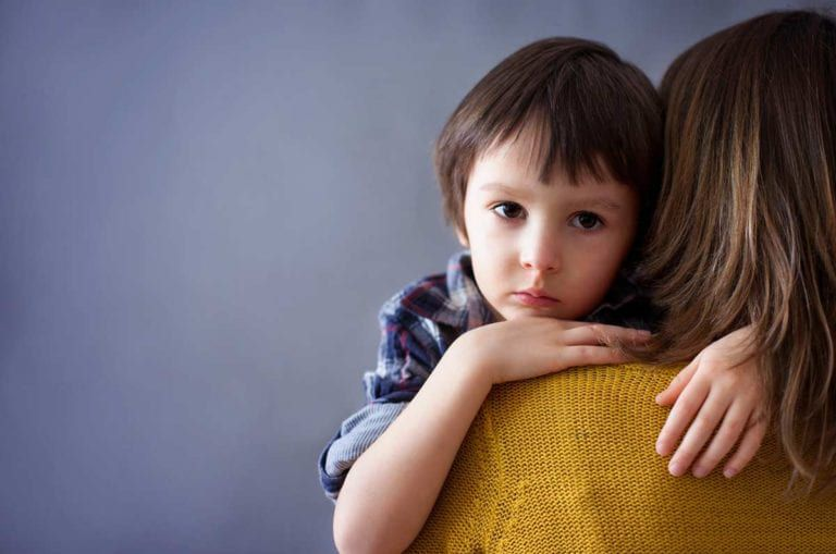 Child in depression